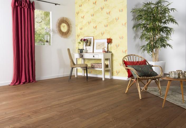 ambiance boh me chic pour le parquet othello caroline desert. Black Bedroom Furniture Sets. Home Design Ideas