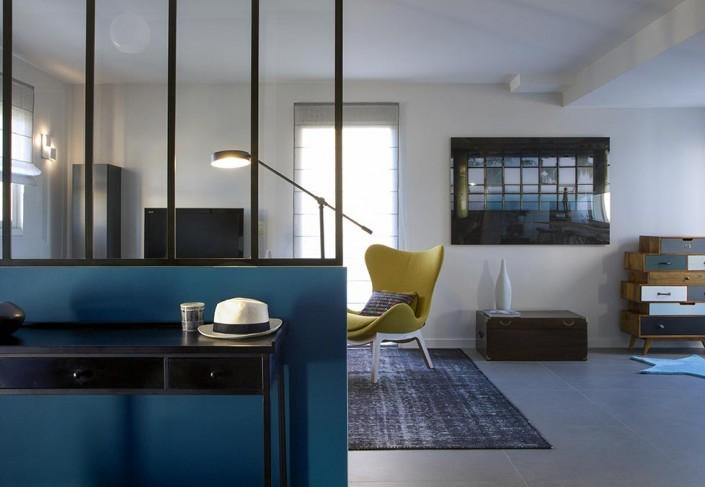 r novation d une maison au rheu caroline desert. Black Bedroom Furniture Sets. Home Design Ideas