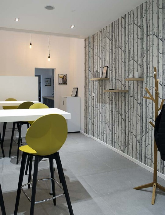 caroline-desert-decoratrice-interieur-papier-peint-woods--cole-and-son--chaise-bar-basil-jaune-moutarde-4