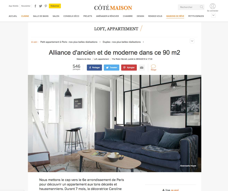 Article Sur C T Maison Caroline Desert