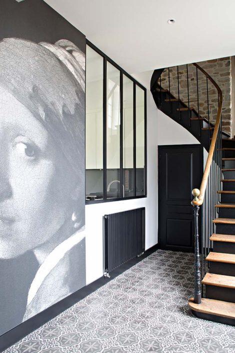 Caroline-Desert-Decoratrice-interieur-Rennes-Paris-entree-carreeaux-de-ciment-presbytere2