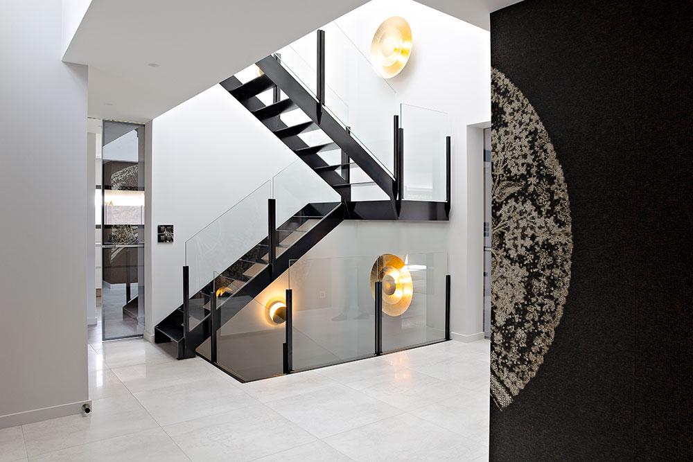 Caroline Desert Decoration Interieure Rennes Paris Maison Contemporaine Entree 10 Caroline Desert