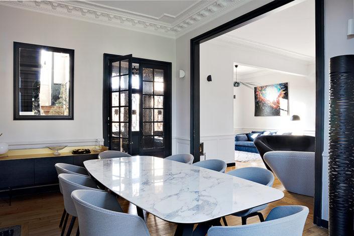 Caroline-desert-decoratrice-interieur-sejour-table-calligaris-marbre-5